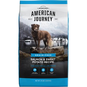 American Journey Salmon dog food for Border Collies