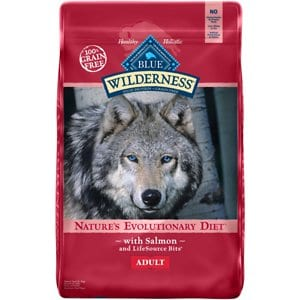 Blue Buffalo Wilderness dog food for Border Collies