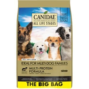 Canidae all-life stages multi-protein dog food for Border Collies