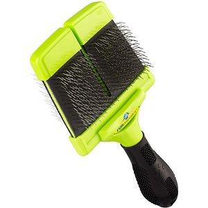 FURminator's two-sided slicker brush for Borders