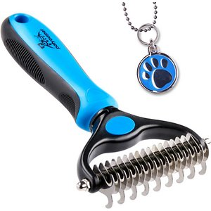 Pat Your Pet Two-Sided Undercoat Rake