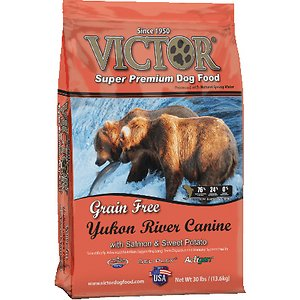 Victor Yukon River Canine dog food for Border Collies